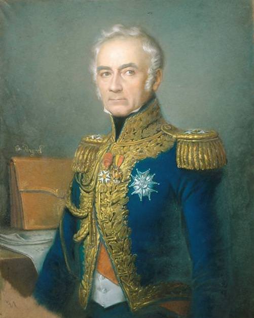 General Charles de Montholon, around 1840, by Edouard Pingret