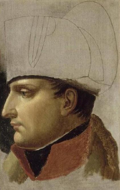 Napoleon Bonaparte by Anne-Louis Girodet de Roussy-Trioson