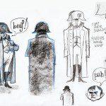 Matt Dawson draws Napoleon