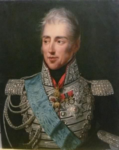Charles X of France (the Count of Artois) by Robert Lefèvre, 1826