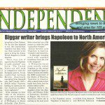Napoleon in America featured in the Biggar Independent