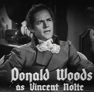 Donald Woods as Vincent Nolte in Anthony Adverse (1936 film)