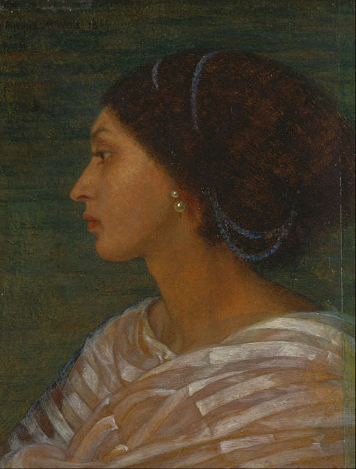 Head of a Mulatto Woman (Mrs. Eaton) by Joanna Boyce Wells, 1861. There are no descriptions of the Villard sisters by anyone who actually saw them. No one knows what they looked like.