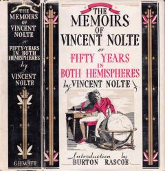 1934 edition of the memoirs of Vincent Nolte