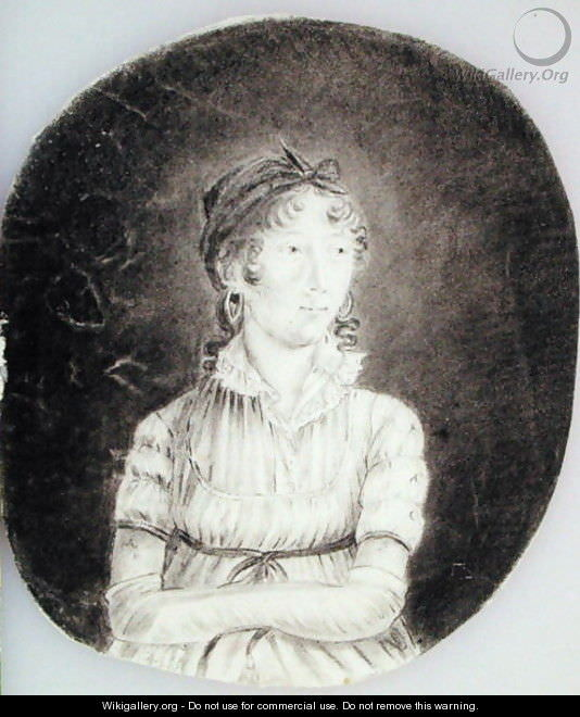 Anne-Marguerite Hyde de Neuville, self-portrait