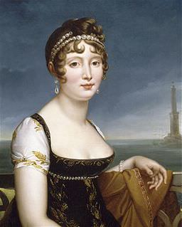 aroline Bonaparte Murat before the Bay of Naples by François Gérard