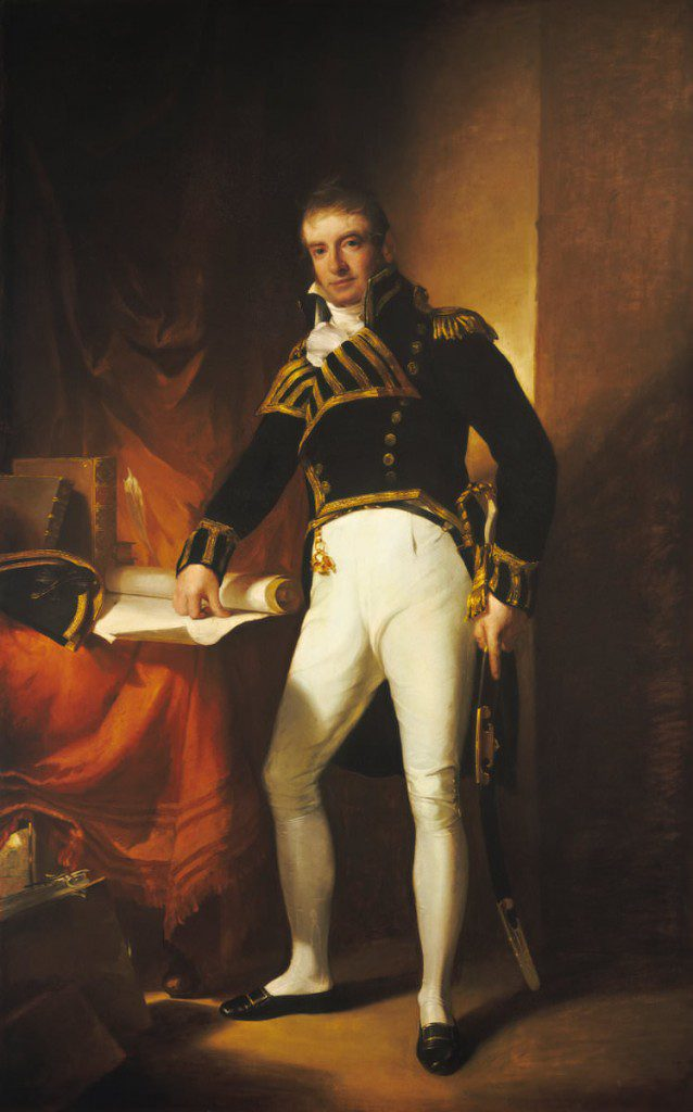 Captain Charles Stewart by Thomas Sully, 1811-1812
