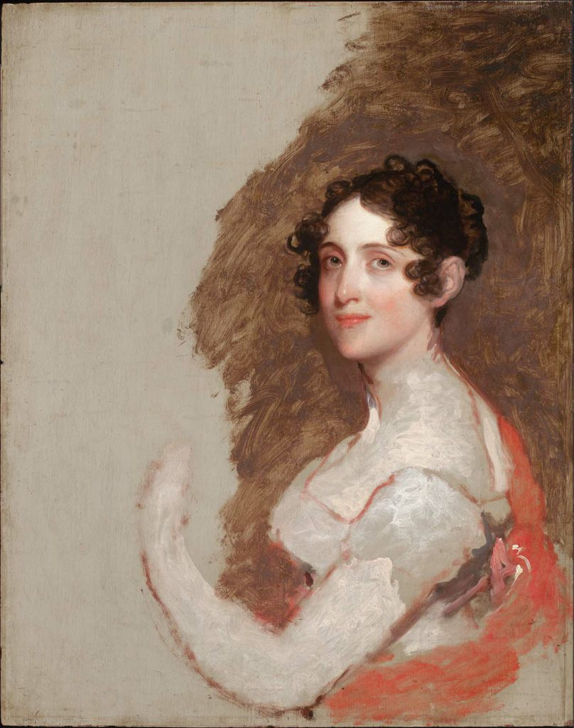 Delia Tudor Stewart by Gilbert Stuart, about 1815