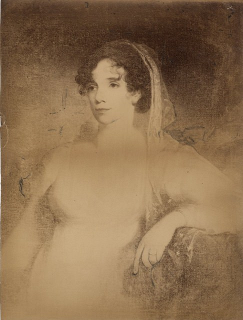 Emily Mifflin Hopkinson by Thomas Sully, 1808