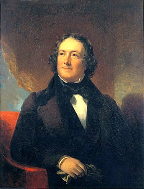 Portrait of Nicholas Biddle by William Inman, c. 1830s