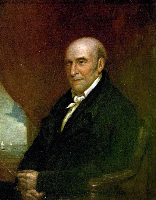 Stephen Girard by JR Lambdin, from a portrait painted by Bass Otis in 1832
