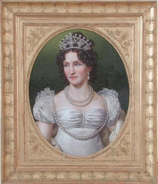 Caroline Augusta of Bavaria, Empress of Austria, around 1816