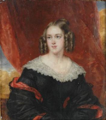 Louise Marie Thérèse d'Artois, about 1840