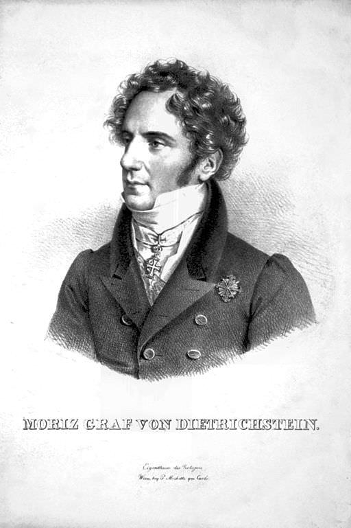 Maurice Dietrichstein (Moritz von Dietrichstein) by Joseph Kriehuber, 1828