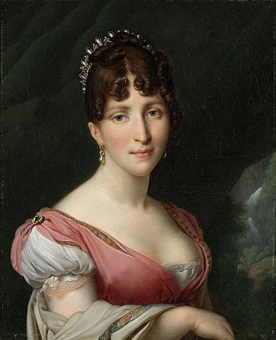 Hortense de Beauharnais by Anne-Louis Girodet de Roussy-Trioson, 1808