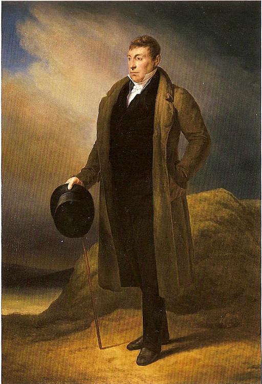 Gilbert du Motier, the Marquis de Lafayette by Ary Scheffer, 1824