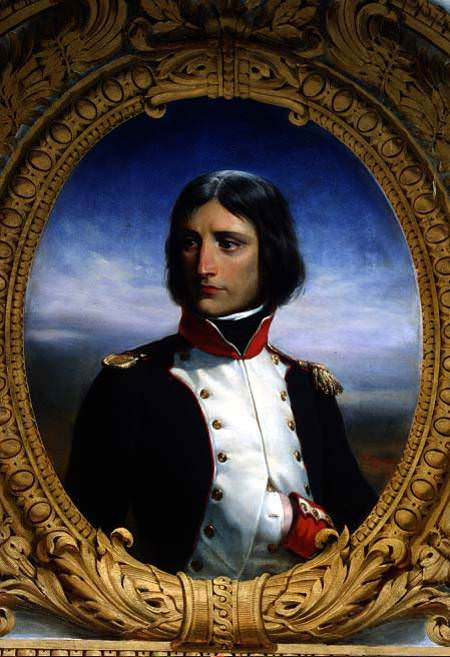 Napoleon Bonaparte as a Lieutenant Colonel of the Corsican National Guard (1792) by Henri Félix Emmanuel Philippoteaux