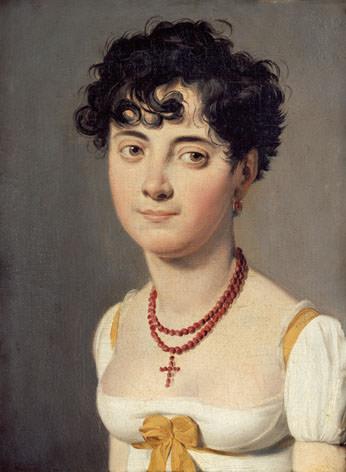 Madame Fouler (Henriette Victoire Elisabeth d'Avrange), comtesse de Relingue, with coiffure à la Titus, by Louis Léopold Boilly, 1810