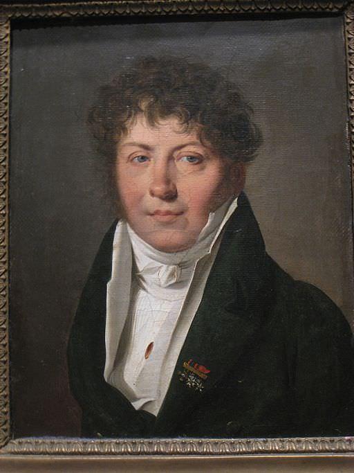 Portrait of a man with coiffure à la Titus, by Louis Léopold Boilly