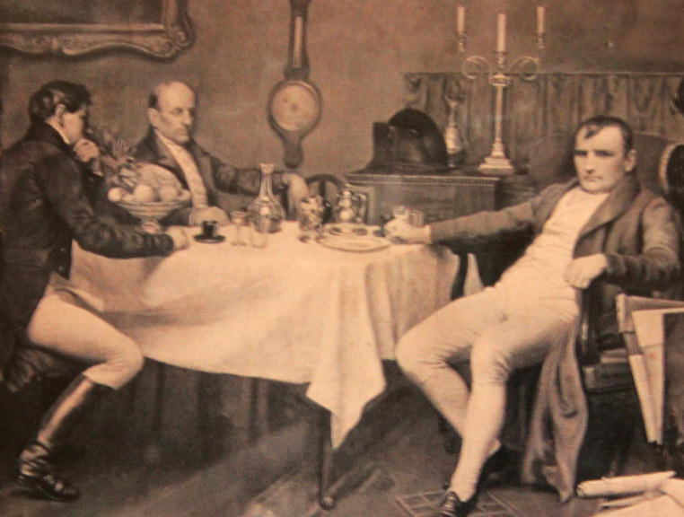 Napoleon in his dining room