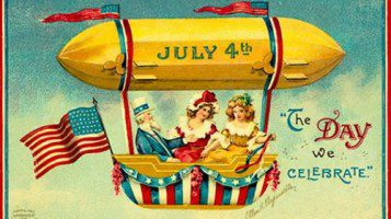 Celebrating July 4th in early 19th century New Orleans