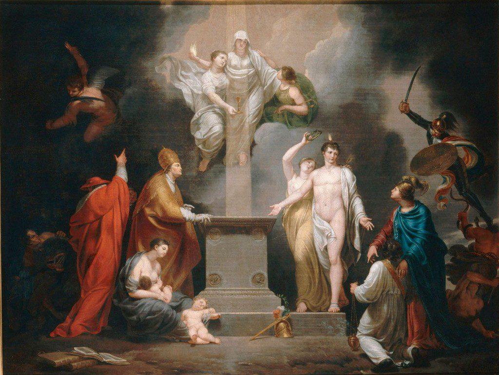 Allégorie du Concordat de 1801 (Allegory of the Concordat), by Pierre Joseph Célestin François, 1802