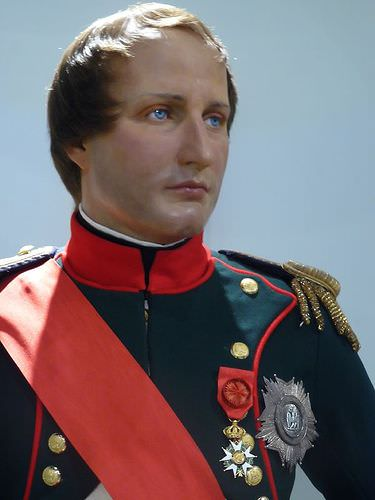 Napoleon at Madame Tussaud's Wax Museum in New York