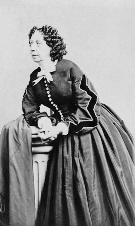 Sara Payson Parton (Fanny Fern), around 1866