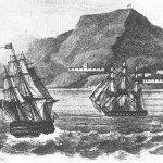 Napoleon's arrival at St. Helena