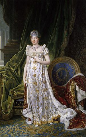 Empress Marie Louise by Jean-Baptiste Isabey, 1810