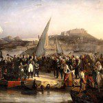 How did Napoleon escape from Elba?