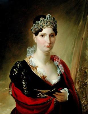 Elisa Bonaparte Baciocchi by Joseph Franque, 1812