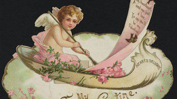Valentine's Day in early 19th century America