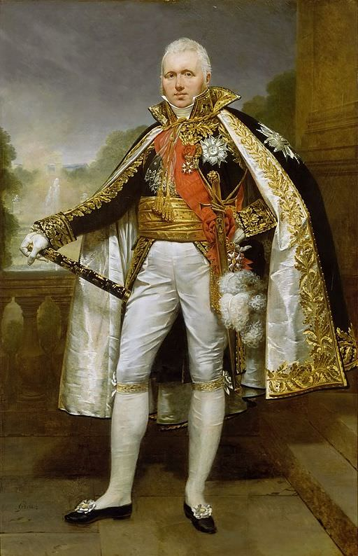 Claude Victor Perrin, Duke of Belluno, Marshal of France, in an 1812 portrait by Antoine-Jean Gros commissioned by Napoleon for the Tuileries Palace