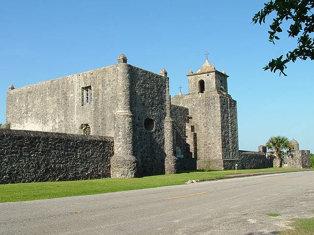 Presidio La Bahía (Goliad, Texas), of which Francisco García was the commander in the early 1820s