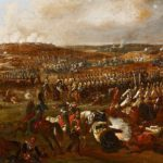 How were Napoleonic battlefields cleaned up?