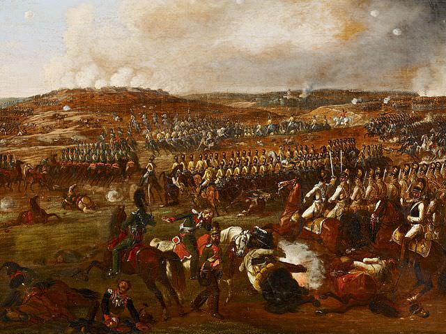 The Battle of Borodino, September 7, 1812, by Albrecht Adam