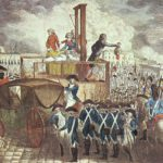 A Guillotine Execution in Napoleonic Times