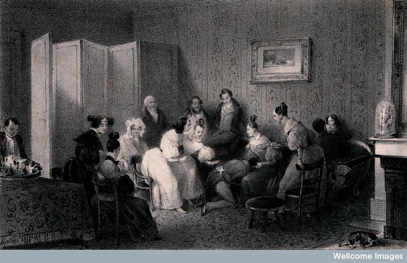 Perhaps it's time for a 20 Questions game. Credit: Wellcome Library, London. Wellcome Images images@wellcome.ac.uk http://wellcomeimages.org