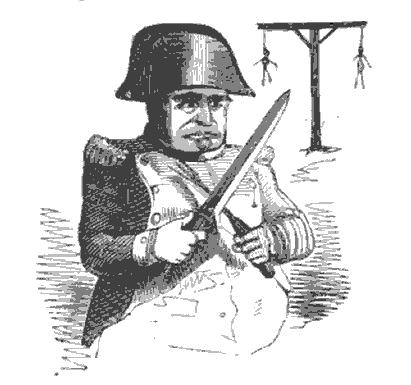 Boney the bogeyman: Napoleon ready to dine on the children of England