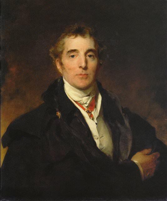 Arthur Wellesley, 1st Duke of Wellington by Thomas Lawrence