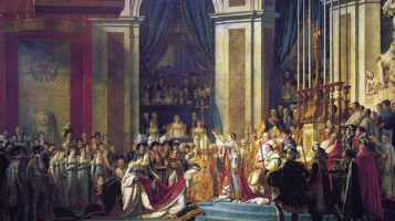 The Bumpy Coronation of Napoleon