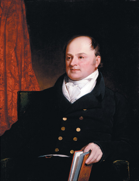 John Quincy Adams by Charles Robert Leslie