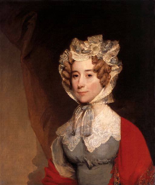Louisa Adams by Gilbert Stuart, circa 1821-1826