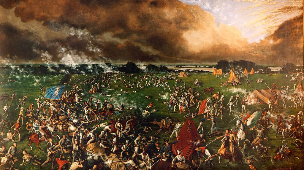The Battle of San Jacinto by Henry Arthur McArdle, 1895