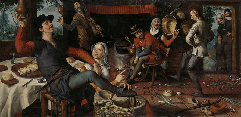 The Egg Dance by Pieter Aertson, 1552
