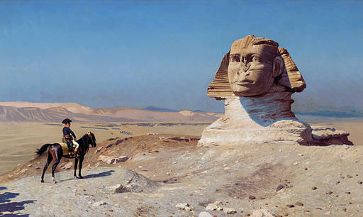 Bonaparte Before The Sphinx by Jean-Léon Gérôme, 1867-68