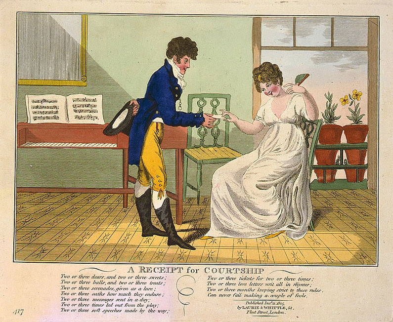 A Receipt for Courtship, 1805