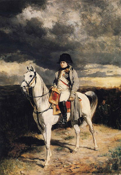 Napoleon in 1814, by Jean-Louis-Ernest Meissonier, 1862