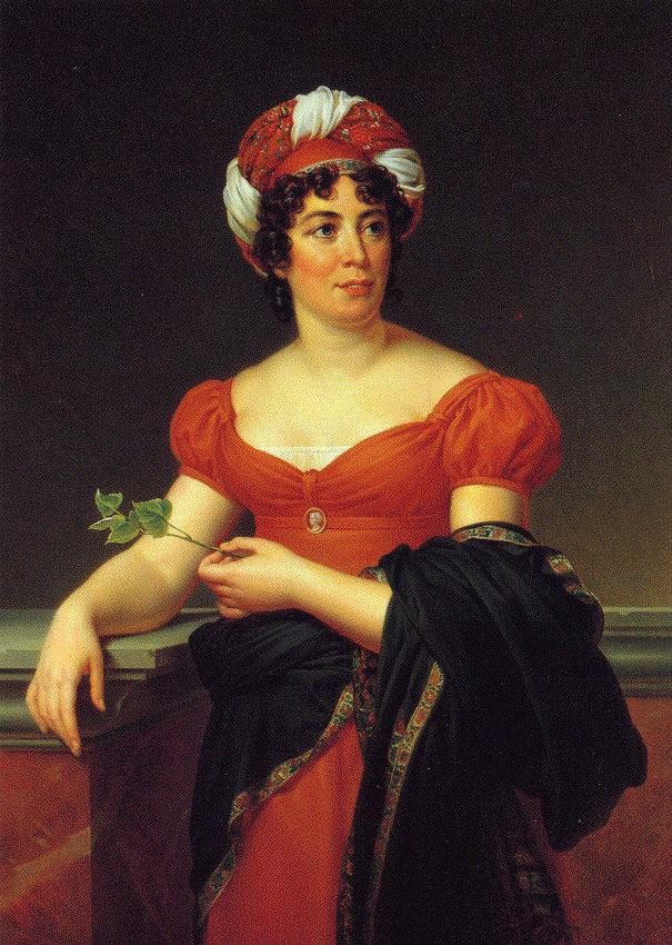 Madame de Staël by François Gérard, circa 1810